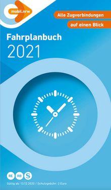 Frontseite des NRW-Fahrplanbuch 2020