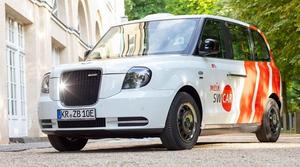 mein SWCar London Taxi, Stadtwerke Krefeld
